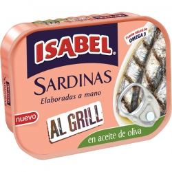 Foto principal Grilled sardines in spicy sauce Isabel 85 gr.