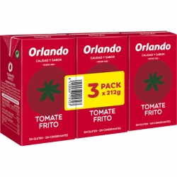 Ketchup Orlando pack 3 ud. x 210 gr.