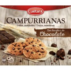 Foto principal Cookies with chocolate chips Campurrianas 450 gr.