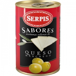 Foto principal Olives stuffed with Manchego cheese Serpis 130 gr.