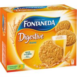 Biscuits Digestive With oats Fontaneda