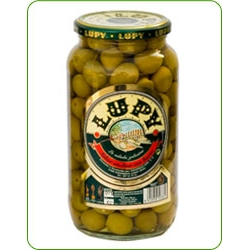 Manzanilla olives anchovy flavor Lupy 990 gr.