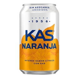 Foto principal Kas orange no added sugar 33cl. pack 8 cans