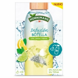 Infusion for your bottle lime, lemon and mint Hornimans 10 u