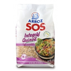 Foto principal Brown rice with quinoa SOS 500 gr.