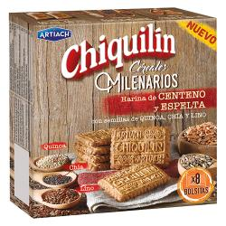Foto principal Cookies Chiquilín Millenary cereals 260 gr.