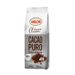 Foto principal Pure defatted cocoa without added sugar Valor 750 gr.
