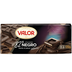 Foto principal 82% dark chocolate Valor 170 gr.