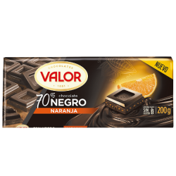 Foto principal 70% black chocolate with orange