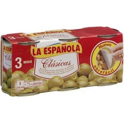 Foto principal Anchovy stuffed olives from La Española Pack 3 ud.