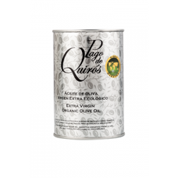 Organic extra virgin olive oil Pago de Quirós 500 ml.