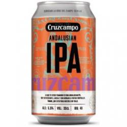Beer Cruzcampo ANDALUSIAN IPA 33 c