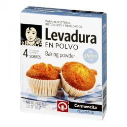 Carmencita baking powder 4 sachets