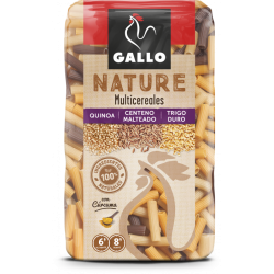 Macarrones Multicereales Gallo Nature 400 gr.