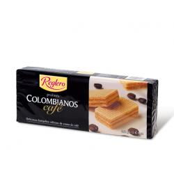 Colombian Reglero coffee biscuits 260 gr.