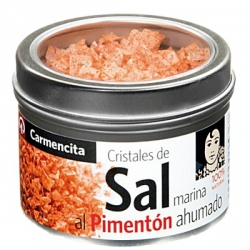 Foto principal Salt to the smoked paprika Carmencita 85 gr.