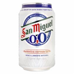San Miguel alcohol-free beer 33 cl.