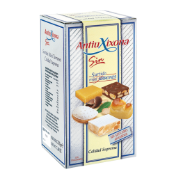 Mini sugarless nougat Xixona Antiu