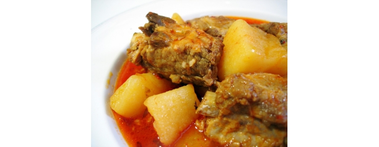 Potatoes with Pork Ribs
