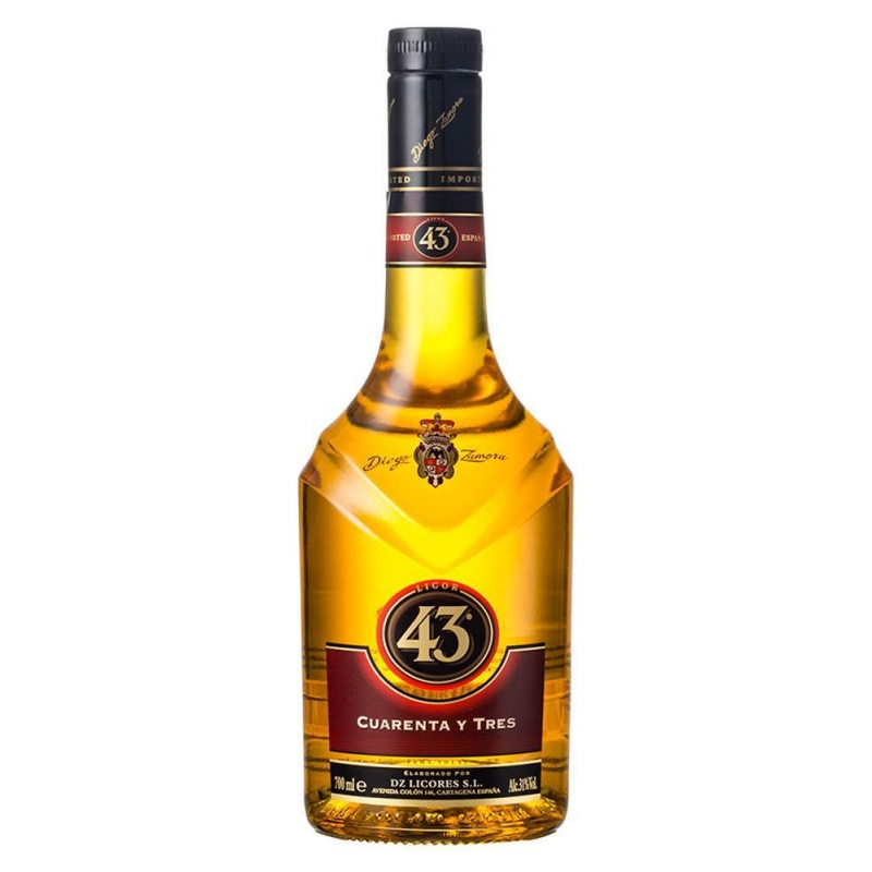 Online Store Selling Licor 43