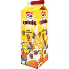Foto principal Galletas de chocolate minis The Simpsons Arluy